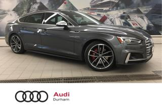 Used 2018 Audi S5 Sportback 3.0T Technik + Lane Assist | Adapt Cruise | Sport for sale in Whitby, ON