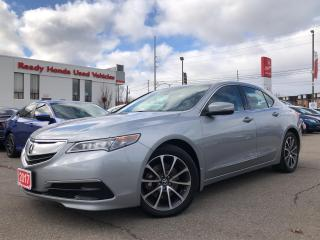 Used 2017 Acura TLX V6 Tech PKG Leather - Sunroof - Navi - Alloy for sale in Mississauga, ON