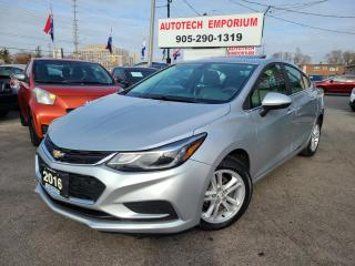 Used 2016 Chevrolet Cruze LT Sunroof/Navigation/Heated Seats/Alloys for sale in Mississauga, ON