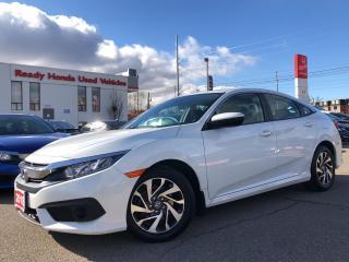 Used 2018 Honda Civic Sedan EX Alloy - Sunroof - Rear camera for sale in Mississauga, ON