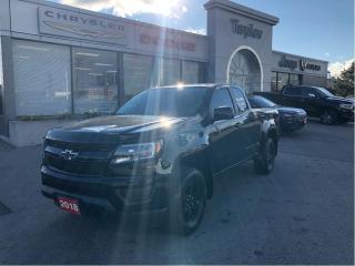 Used 2018 Chevrolet Colorado 4WD Ext Cab 128.3  Work Truck for sale in Hamilton, ON
