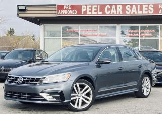 Used 2016 Volkswagen Passat SE 6A |TEXT.US |647.678.7778| R-LINE|LEATHER|SUNROOF|APPLECARPLAY| for sale in Mississauga, ON