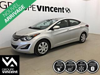 Used 2015 Hyundai Elantra GL ** GARANTIE 10 ANS ** Berline fiable et économique! for sale in Shawinigan, QC