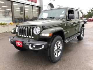 New 2021 Jeep Wrangler Unlimited Sahara 4x4 V6 for sale in Hamilton, ON
