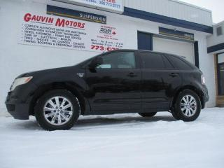 Used 2007 Ford Edge SEL Plus,  AWD LEATHER DVD for sale in Swift Current, SK