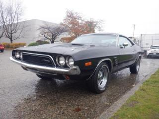 Used 1974 Dodge Challenger 360 Four Barrel for sale in Burnaby, BC