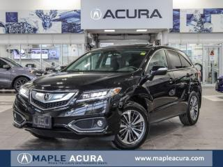 Used 2017 Acura RDX Elite, Dealer service, One Owner, No Accidents for sale in Maple, ON