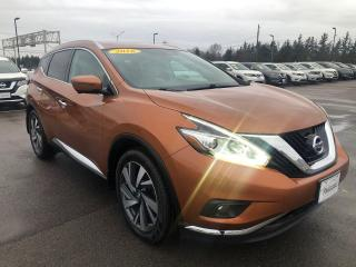 Used 2016 Nissan Murano Platinum AWD for sale in Charlottetown, PE