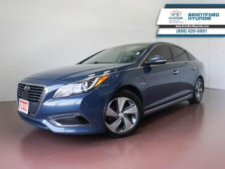 Used 2016 Hyundai Sonata Plug-In Hybrid BACK UP CAM | BLUETOOTH | HTD SEATS  - $128 B/W for sale in Brantford, ON