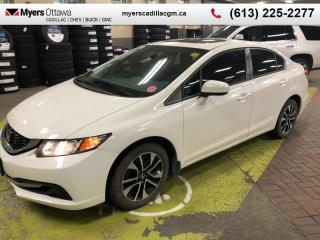 Used 2014 Honda Civic Sedan EX  EX, SUNROOF, AUTO, REAR CAMERA, ALLOYS for sale in Ottawa, ON