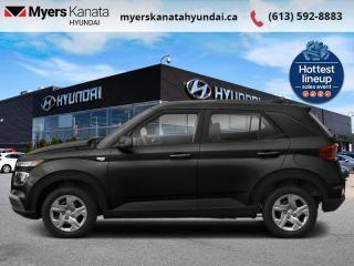 New 2021 Hyundai Venue Preferred IVT  - $152 B/W for sale in Kanata, ON