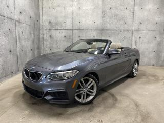 Used 2016 BMW 2 Series 228i xDrive M-PACK CONVERTIBLE AWD CAMERA SIEGES CHAUFFANT for sale in St-Nicolas, QC
