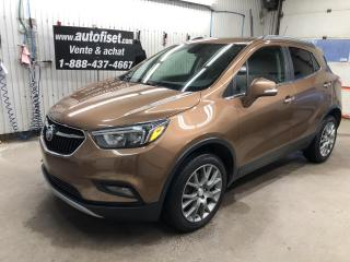 Used 2017 Buick Encore AWD 4dr Sport Touring  $63.69/semaine+taxes for sale in St-Raymond, QC