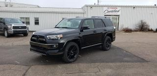 New 2021 Toyota 4Runner NIGHTSHADE 7 PASSENGER for sale in Port Hawkesbury, NS