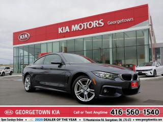Used 2019 BMW 4 Series 430i xDrive | 1 OWNER | LTHR | NAV | ROOF |37,784K for sale in Georgetown, ON
