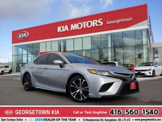 Used 2018 Toyota Camry SE | 1 OWNER | CLEAN CARFAX | B/U CAM | ROOF | 79K for sale in Georgetown, ON