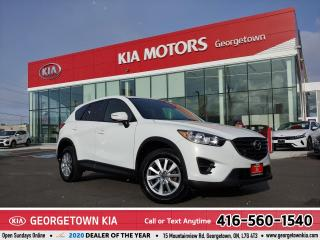 Used 2016 Mazda CX-5 GX | AWD | NAVI | B/U CAM | B/TOOTH | 93,422 KM | for sale in Georgetown, ON