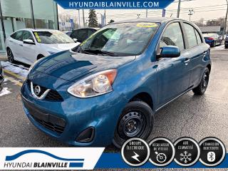 Used 2017 Nissan Micra DÉMARREUR À DISTANCE, BLUETOOTH, A/C, CR for sale in Blainville, QC