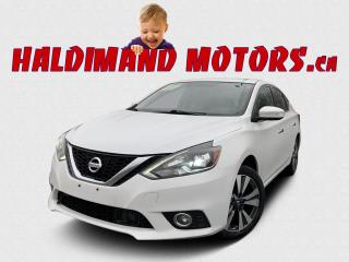 Used 2017 Nissan Sentra SL 2WD for sale in Cayuga, ON