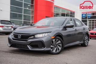 Used 2018 Honda Civic GARANTIE LALLIER 10ANS/200,000 KILOMETRES INCLUSE* LE MEILLEUR CHOIX DE CIVIC HATCHBACK AU QUEBEC for sale in Terrebonne, QC