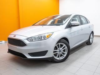 Used 2015 Ford Focus SE AUTOMATIQUE BLUETOOTH CAMÉRA *BAS KILOMÉTRAGE* for sale in St-Jérôme, QC