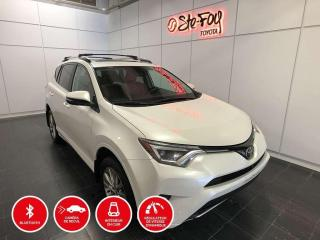 Used 2018 Toyota RAV4 LIMITED - PLATINUM - AWD for sale in Québec, QC
