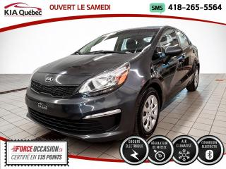 Used 2016 Kia Rio LX+* A/C* GROUPE ELECTRIQUE* for sale in Québec, QC