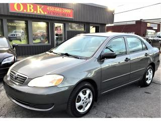 Used 2006 Toyota Corolla CE-AUTOMATIQUE-AIR CLIMATISE- for sale in Laval, QC