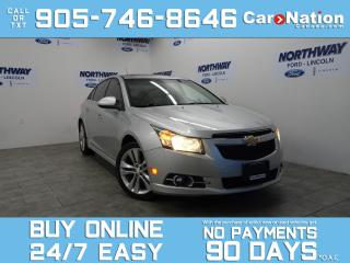 Used 2012 Chevrolet Cruze LT | RS PACKAGE  | SUNROOF | BLUETOOTH | ALLOYS for sale in Brantford, ON