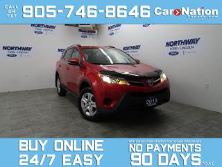 Used 2015 Toyota RAV4 LE | REAR CAM | TOUCHSCREEN | NEW CAR TRADE for sale in Brantford, ON
