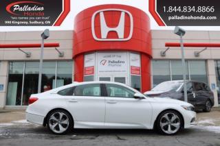 Used 2018 Honda Accord Sedan Touring - HEADS UP DISPLAY HEATED SEATS LANE KEEP ASSIST - for sale in Sudbury, ON