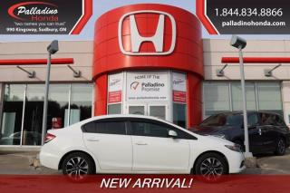 Used 2013 Honda Civic Sdn EX - NEW ARRIVAL - for sale in Sudbury, ON