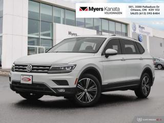 Used 2018 Volkswagen Tiguan Highline 4MOTION  - Certified for sale in Kanata, ON
