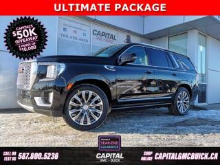 New 2021 GMC Yukon Denali 4WD for sale in Edmonton, AB
