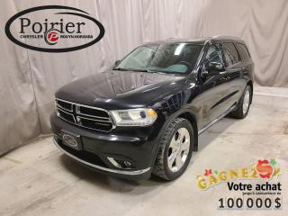 Used 2015 Dodge Durango Limitée 7 passagers for sale in Rouyn-Noranda, QC