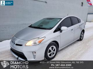 Used 2012 Toyota Prius ONLY 81,560 KMS (FREE 1 YEAR WARRANTY) for sale in Edmonton, AB