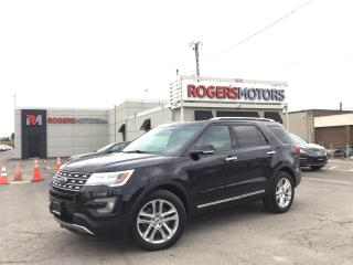 Used 2017 Ford Explorer 2.99% Financing - LTD 4WD - NAVI - 7 PASS - PANO ROOF - LEATHER for sale in Oakville, ON