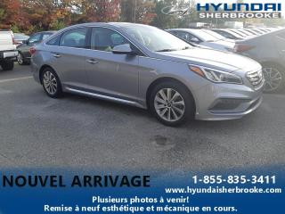 Used 2017 Hyundai Sonata Sport Tech 2,4 L berline 4 portes BA for sale in Sherbrooke, QC