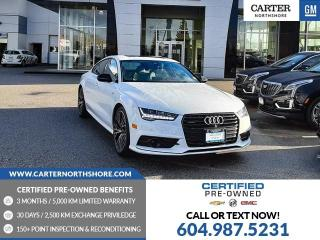 Used 2018 Audi A7 3.0T Technik NAVIGATION - MOONROOF - GENUINE WOOD - LEATHER for sale in North Vancouver, BC