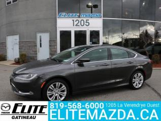Used 2015 Chrysler 200 Limited for sale in Gatineau, QC