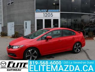 Used 2015 Honda Civic SEDAN Si for sale in Gatineau, QC