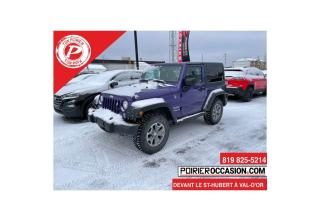 Used 2017 Jeep Wrangler SPORT COULEUR UNIQUE for sale in Val-D'or, QC