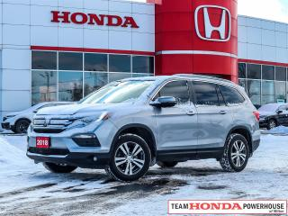 Used 2018 Honda Pilot EX-L RES--1 Owner--No Accidents--Leather--Remote Starter--Honda Sensing for sale in Milton, ON