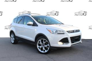 Used 2016 Ford Escape Titanium PRE-OWNED, CERTIFIED! TITANIUM! NAVIGATION AWD for sale in Hamilton, ON