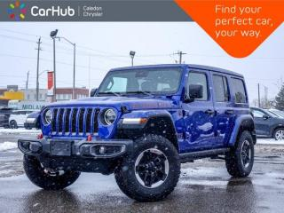 Used 2020 Jeep Wrangler Unlimited Rubicon 4x4 Sky Power Soft Top Leather Blind Spot Bluetooth Backup Camera Remote Start 17