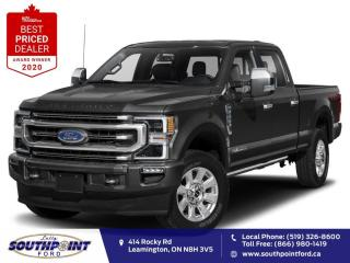 New 2021 Ford F-250 Platinum for sale in Leamington, ON