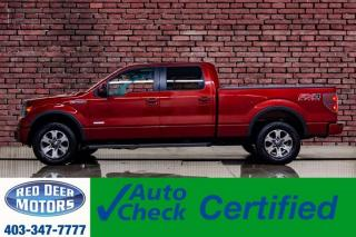 Used 2014 Ford F-150 4x4 Super Crew FX4 Leather Roof Nav BCam for sale in Red Deer, AB