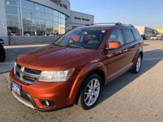 Used 2014 Dodge Journey Heated Seats and Wheel/Uconnect 8.4 for sale in Chatham, ON