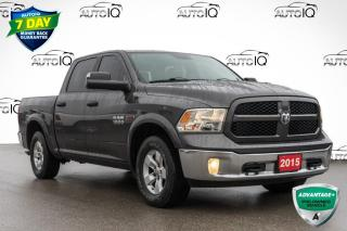 Used 2015 RAM 1500 SLT LOW MILEAGE CREW CAB for sale in Innisfil, ON