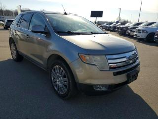 Used 2008 Ford Edge Limited Heated Seats, Sunroof, NAV, Cruise! for sale in Ingersoll, ON